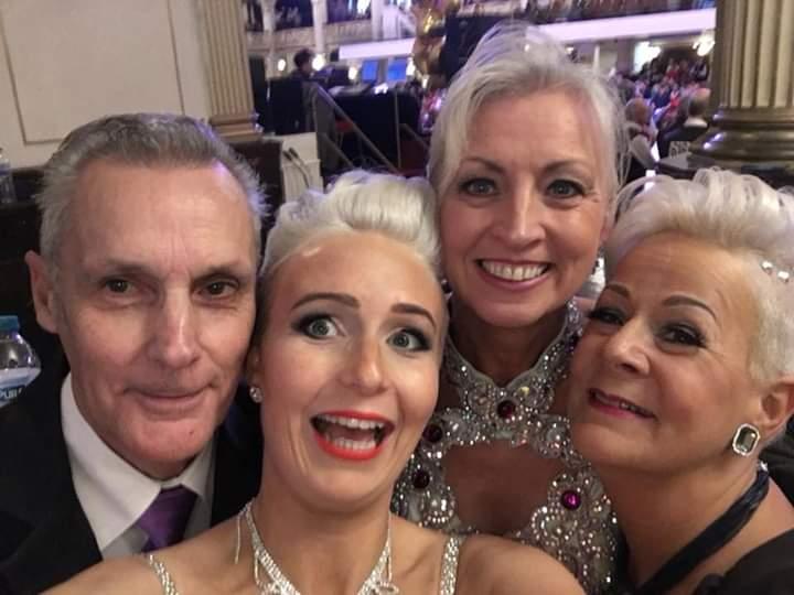 The GottaDance team at Blackpool Grand Finals 2018. 5 Finals between them!!