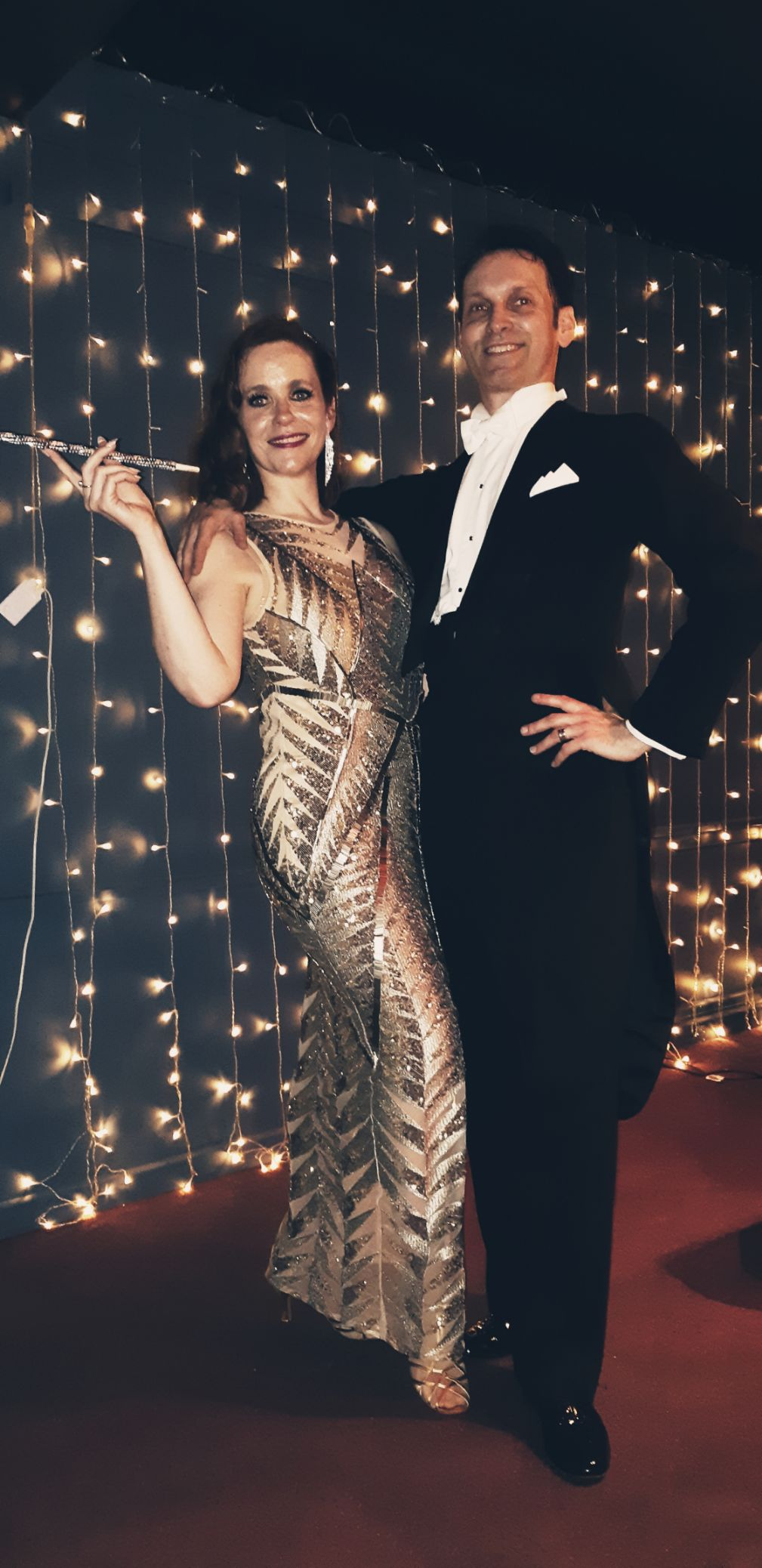 GottaDance Holiday March 2019. Out Great Gatsby themed evening in the wonderful Art Deco interior of the Trouville Hotel, Sandown.