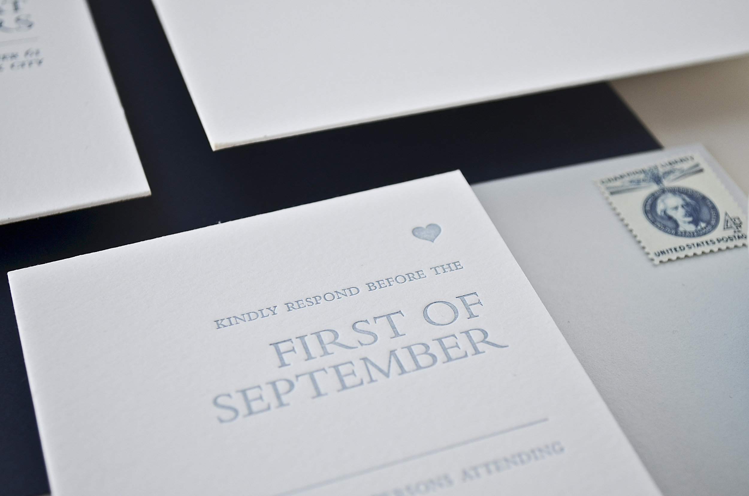 The AV Design Factory - Mod Serif Wedding Invitation Suite