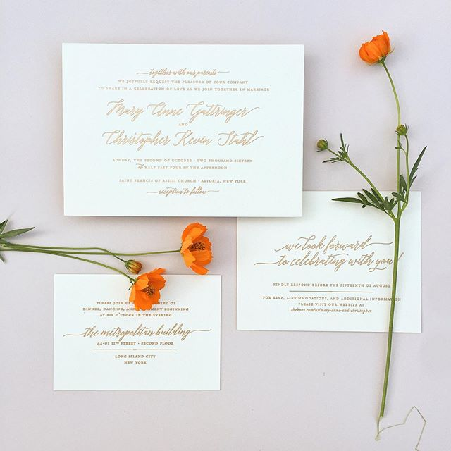 🧡 sometimes I get crazy and use bright colors. . . . #letterpress #goldfoil #custominvitations #luxuryinvitations #weddinginvitations #invitations #invitationsuite #savethedate #celebrate #nyweddings #nybrides #liweddings #longislandweddings #librides #bestoflongisland #weddingstationery #stationery #stationerydesigner #dailydoseofpaper #paperlove #weddingdetails #typography #creativityfound #pursuepretty #thatsdarling #risingtidesociety #makersgonnamake #waxseals #avdesignfactory