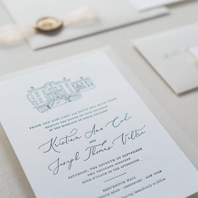 Booking for 2020 and 2021 weddings. Contact info in bio! 🖤 Clean, classic, beautifully designed wedding invitations are waiting for you. 📷@inamcconnell