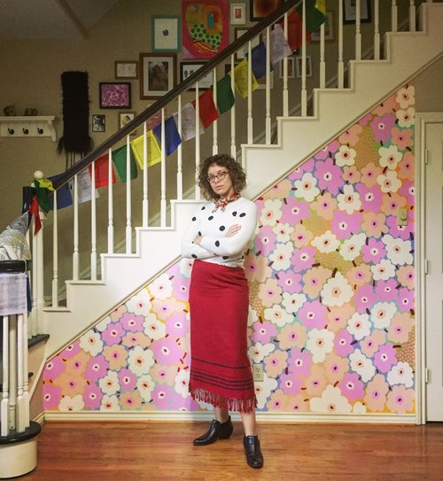 Marimekko Mural Painting, odd size, 2018.jpg