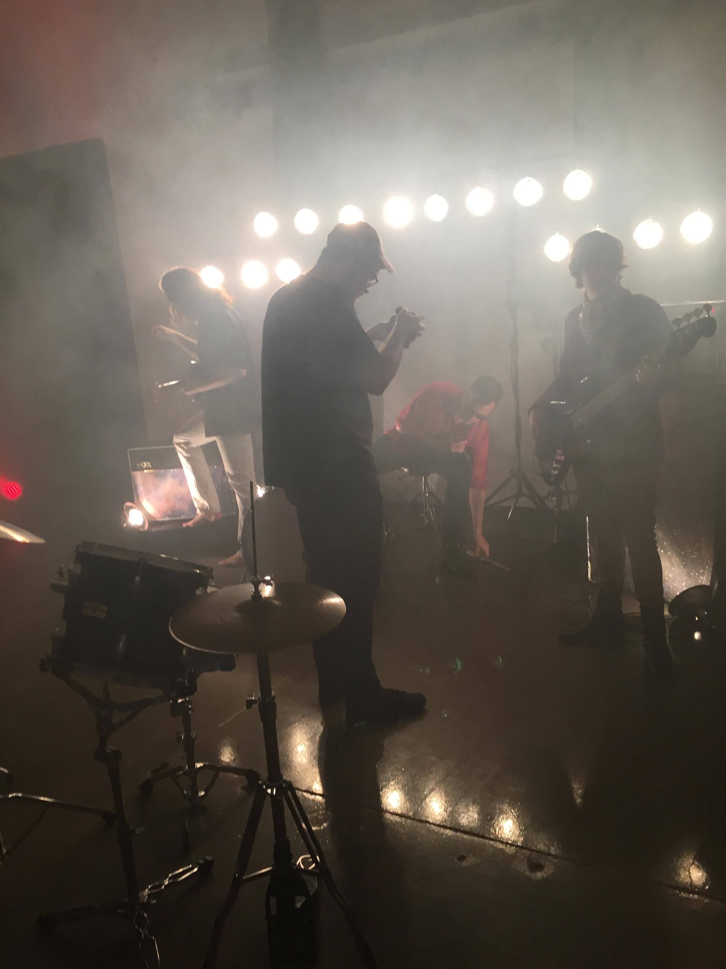 """Westward music video shoot - 2017"""
