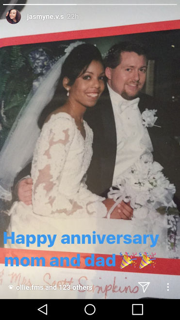 Happy Anniversary wishes from our daughter!