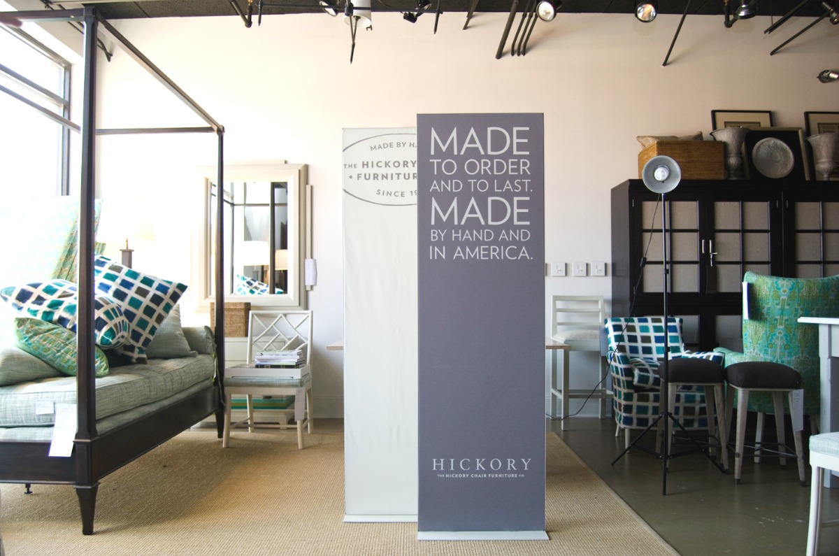 Hickory Furniture Matrix Frame Freestanding Tension Fabric Displays