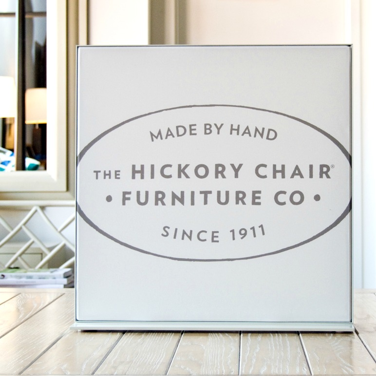 Hickory Furniture Matrix Frame Table-top Display