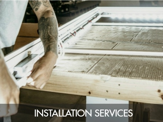 INSTALLATION SERVICES AVAILABLE