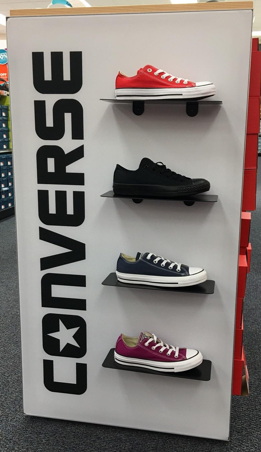 Converse Shoe Display