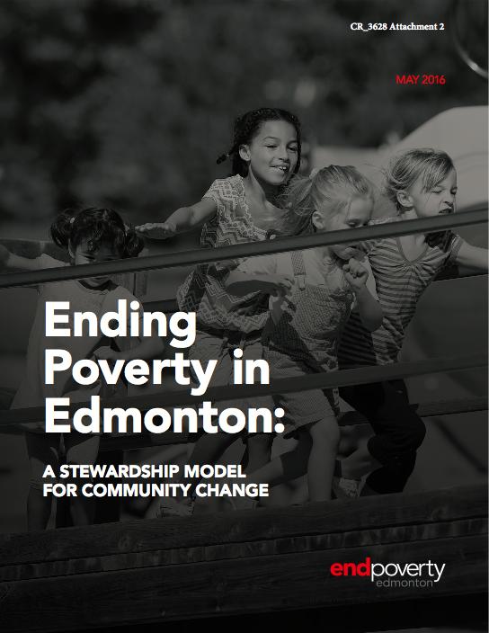 Ending Poverty in Edmonton - Stewardship Model Cover.png