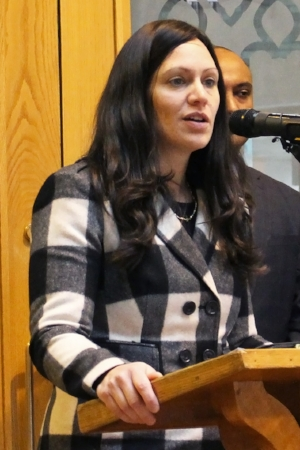 Capital Region Interfaith Housing Initiative's Housing Coordinator Batya Friedman introduces the Action Guide