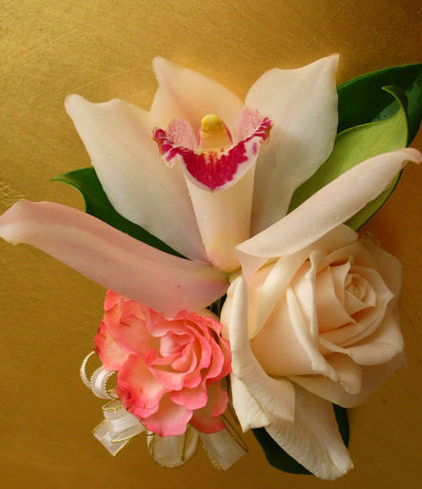 3. Corsage - orchid &roses