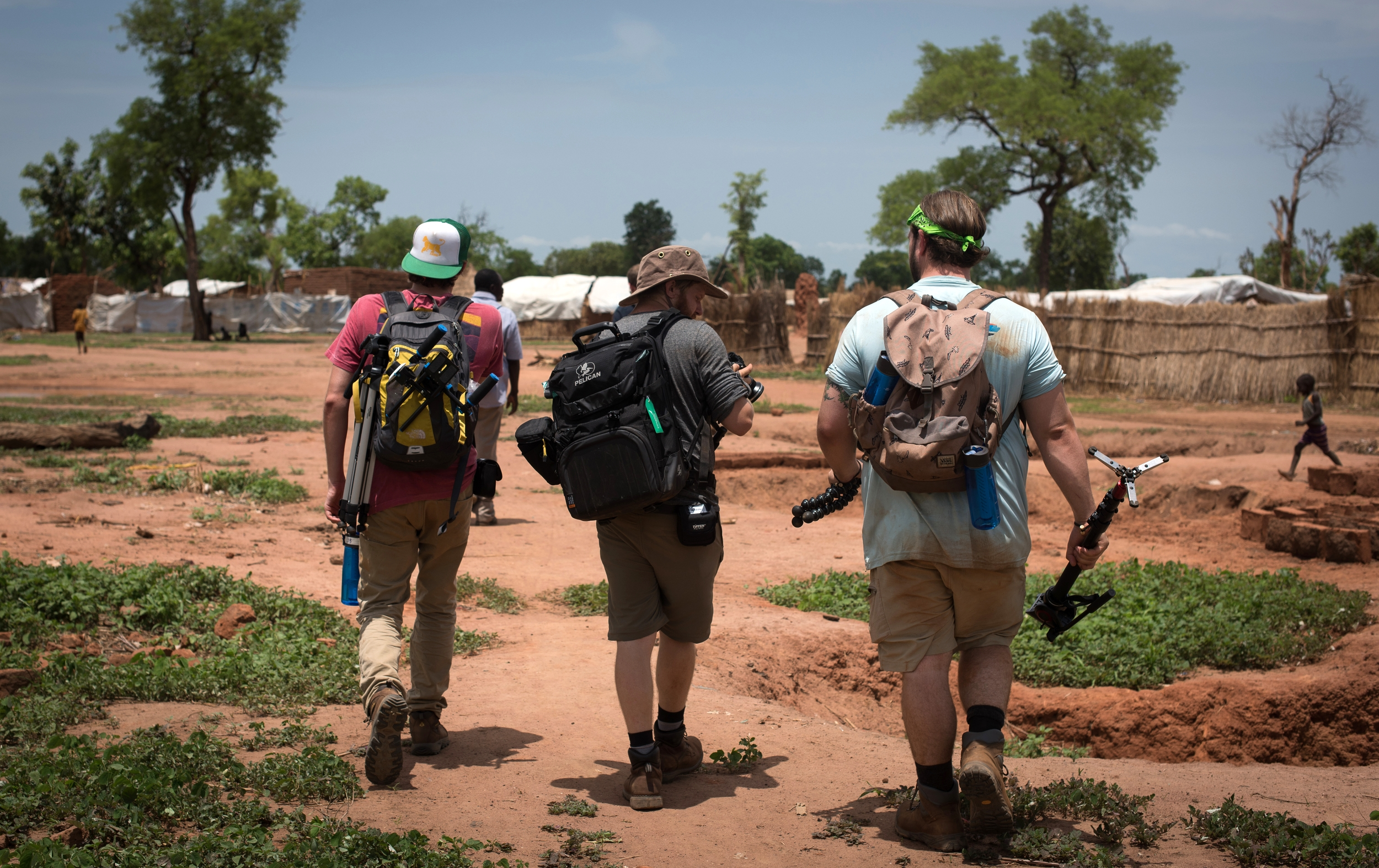 Yida, South Sudan | Camera Department | Josh Boyd, Aaron Baggett, Jacob Geyer | Photo Courtesy of Katie Barber and Operation Broken Silence