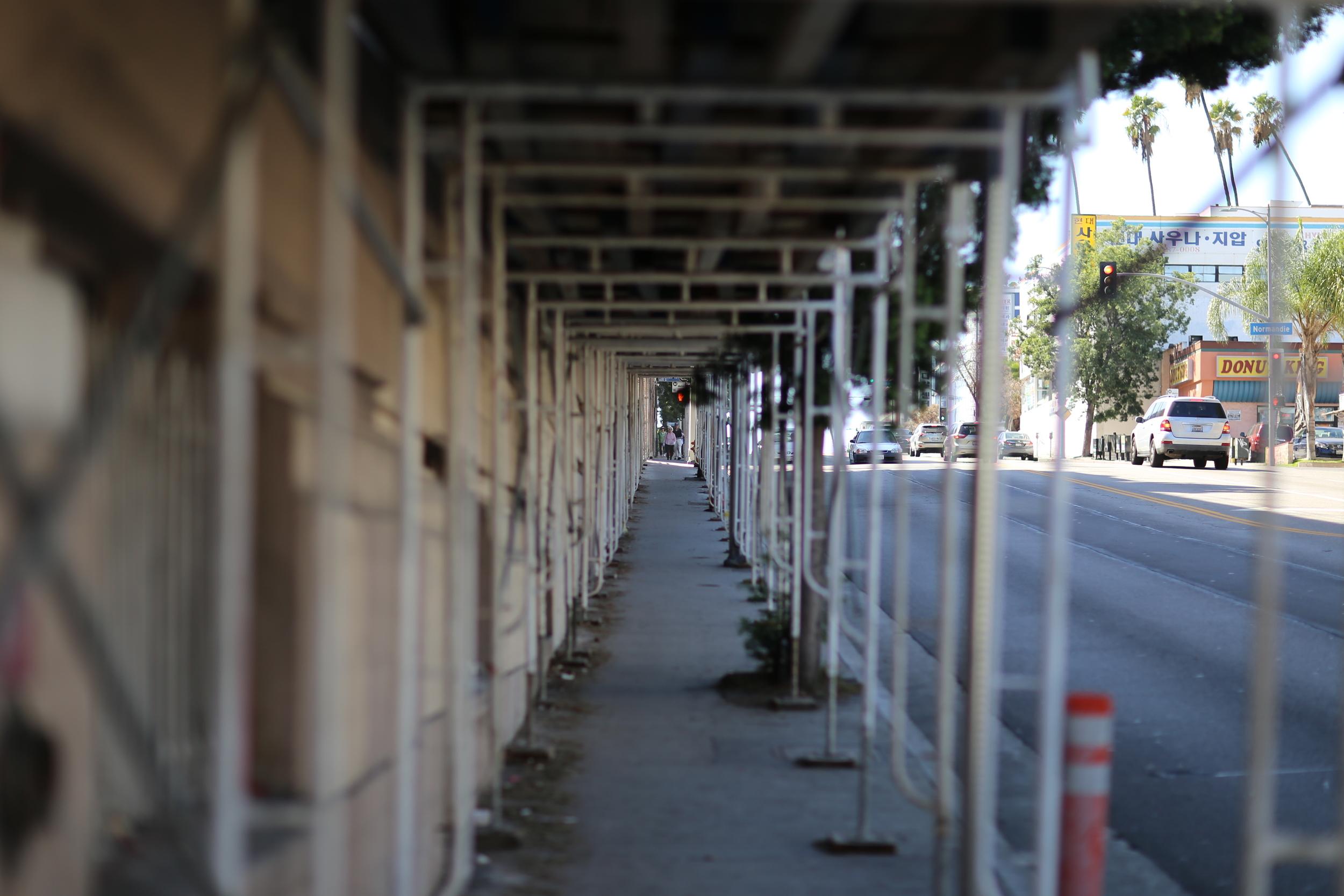 Construction in Koreatown