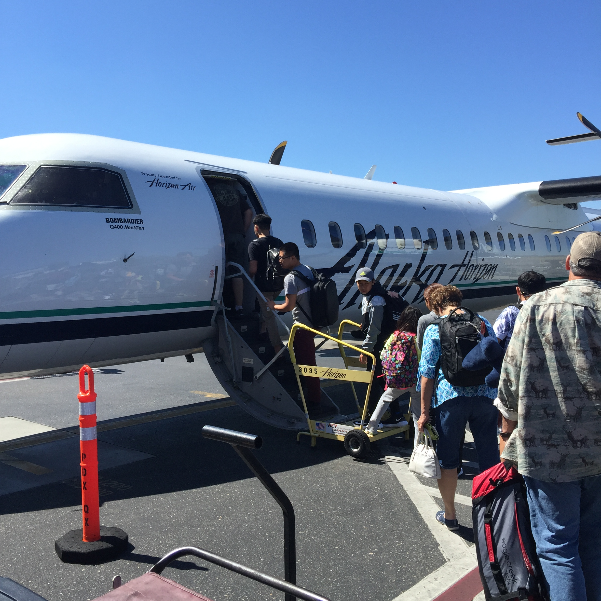 Flying to SeaTac Airport