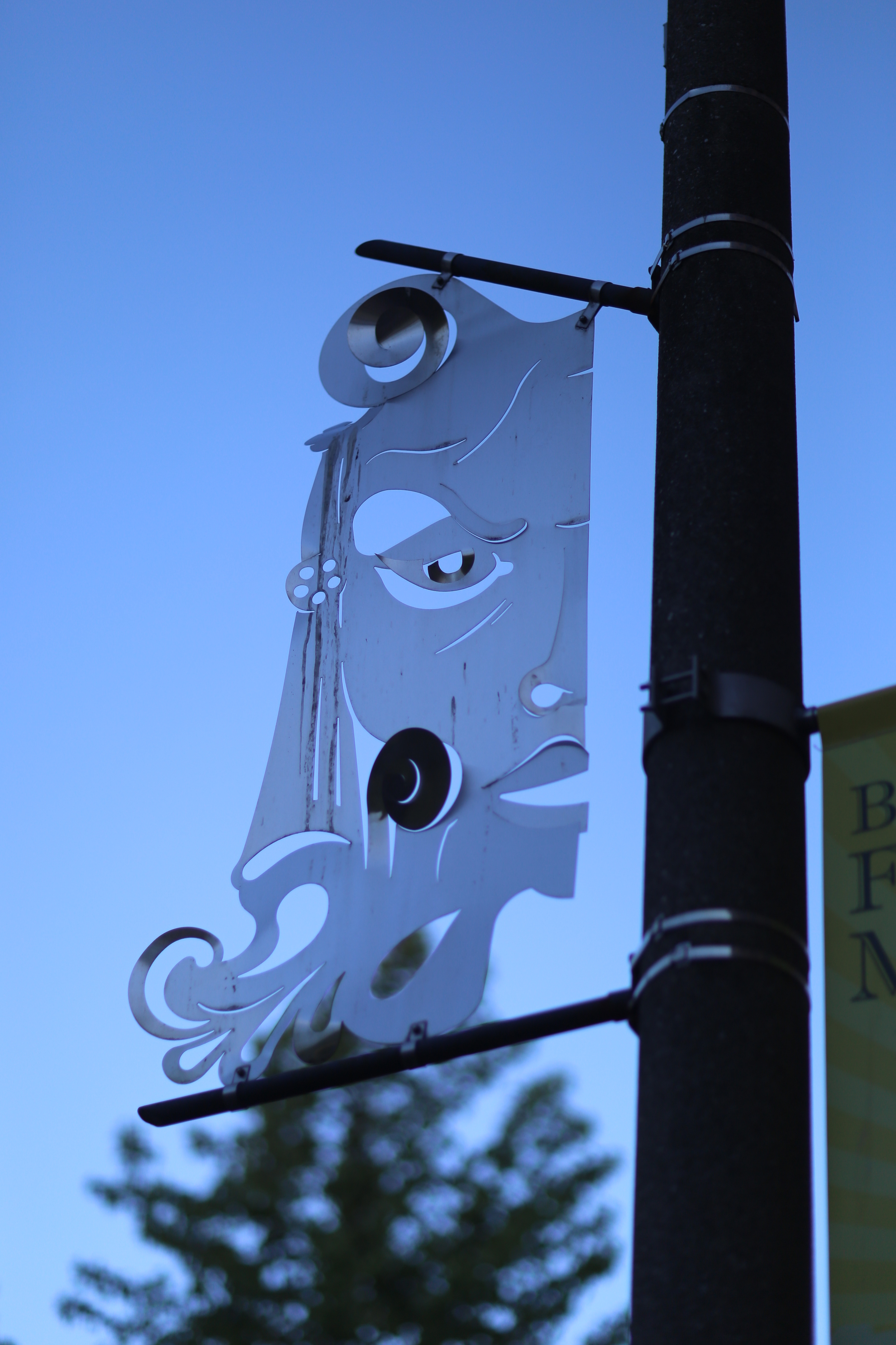 Tacoma theater district banner