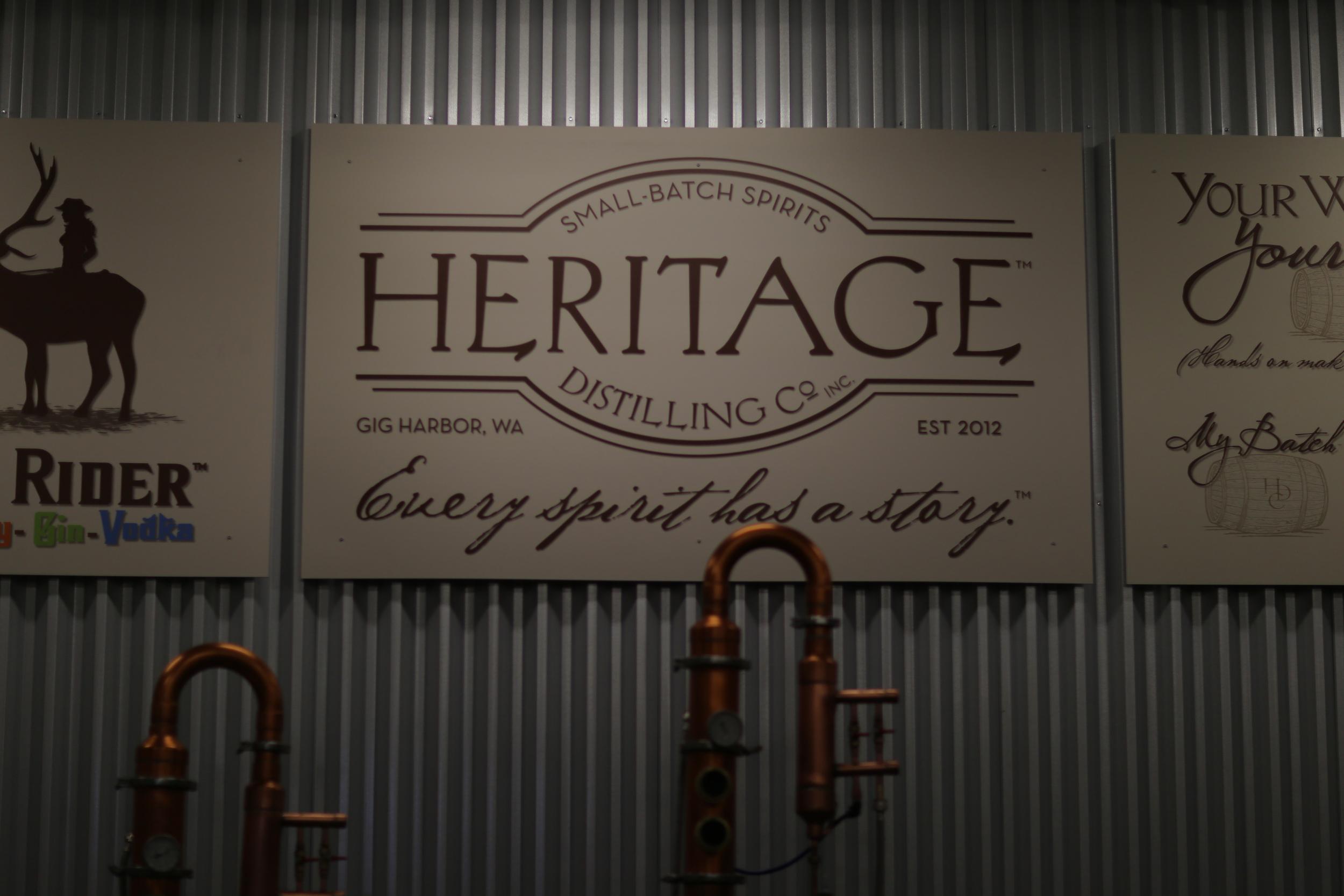 Heritage signage