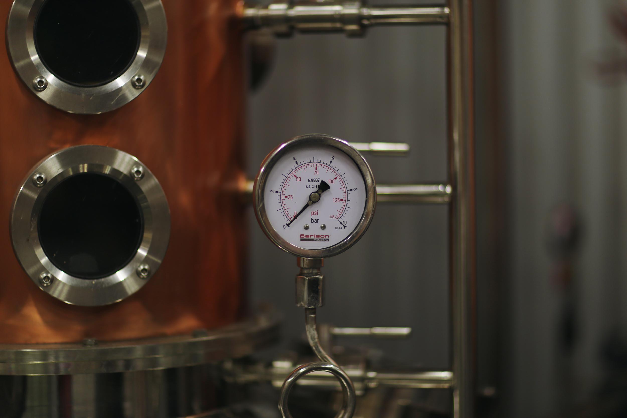 Distillery machinery
