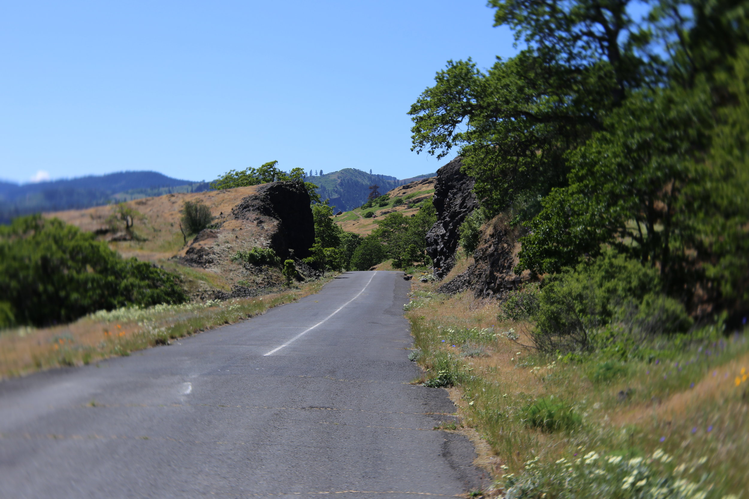 Hikes begin along the old highway
