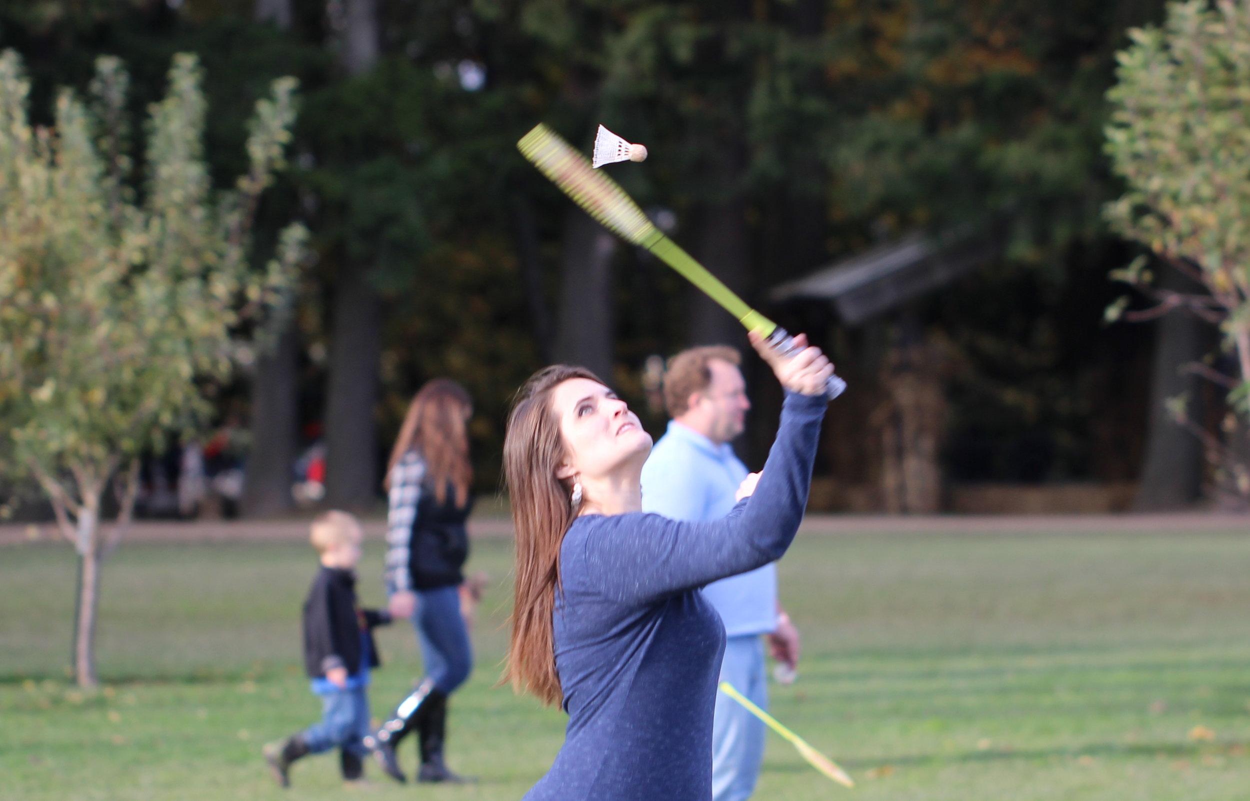 Badminton queen Tiffany McElmurry
