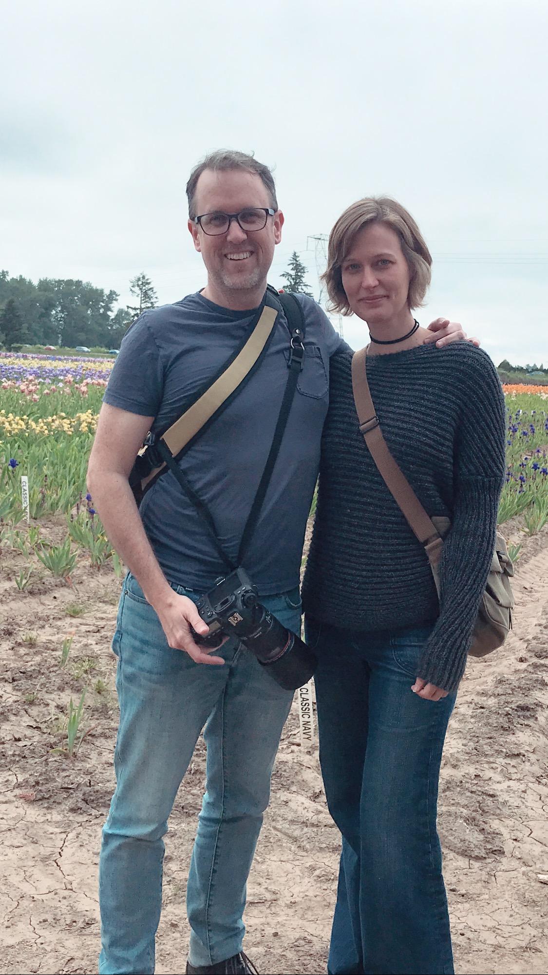 Me and lovely Elaine Schimek