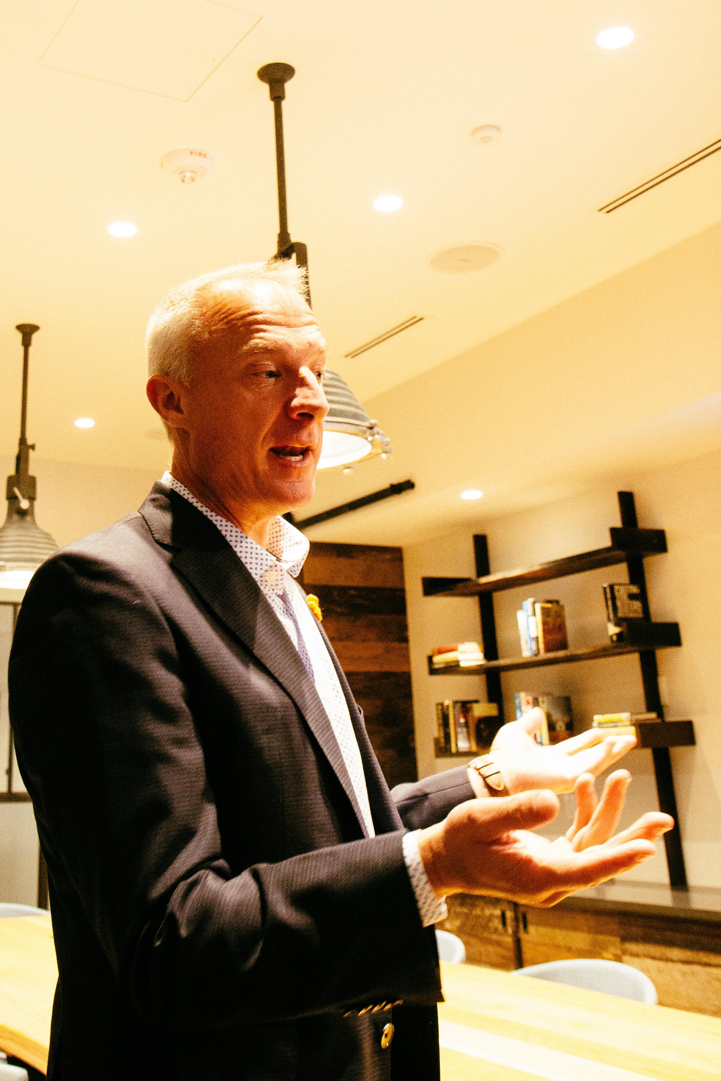 Gary Steffen, global head of Canopy by Hilton