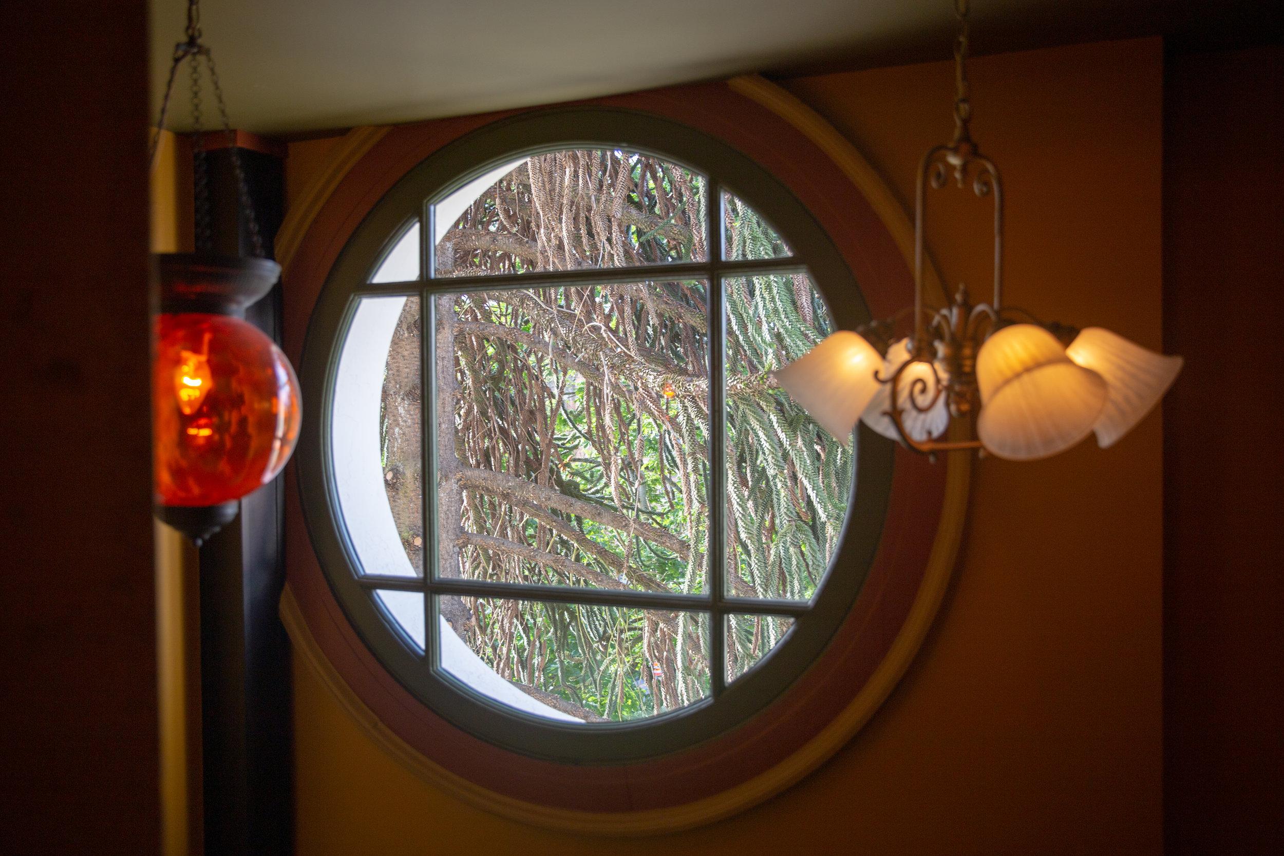 Fun stairwell windows