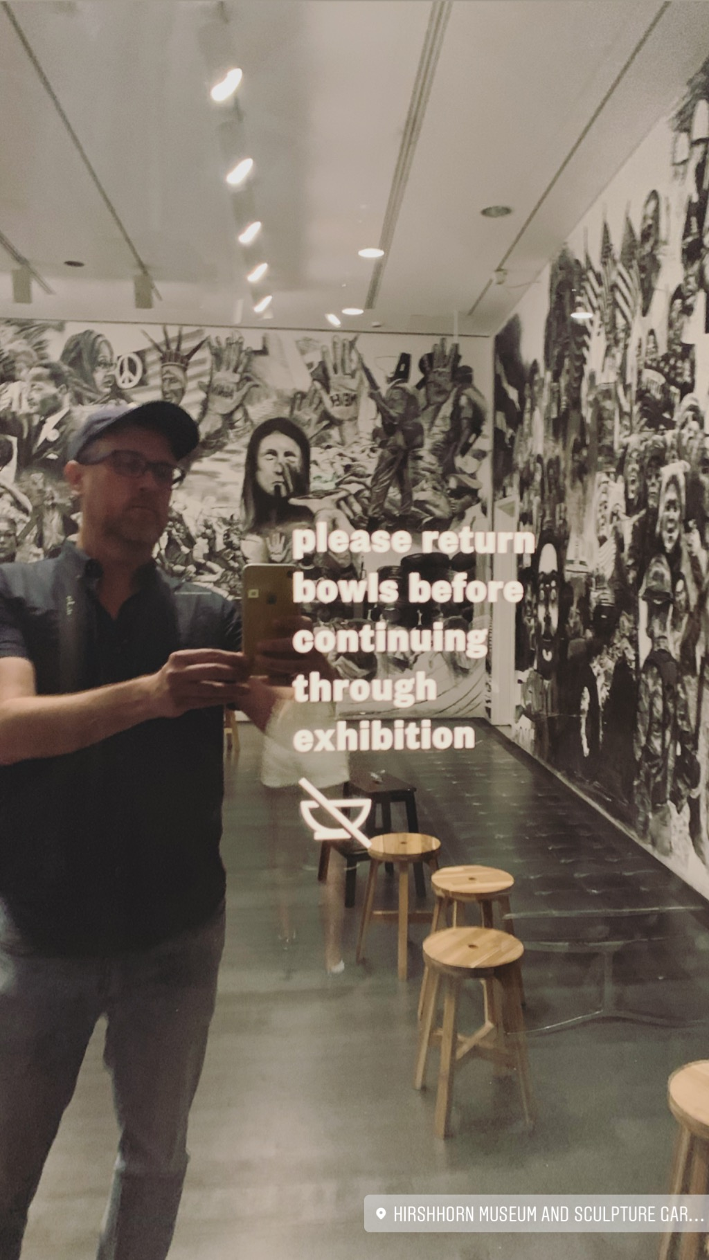 Me in the Hirshhorn Museum