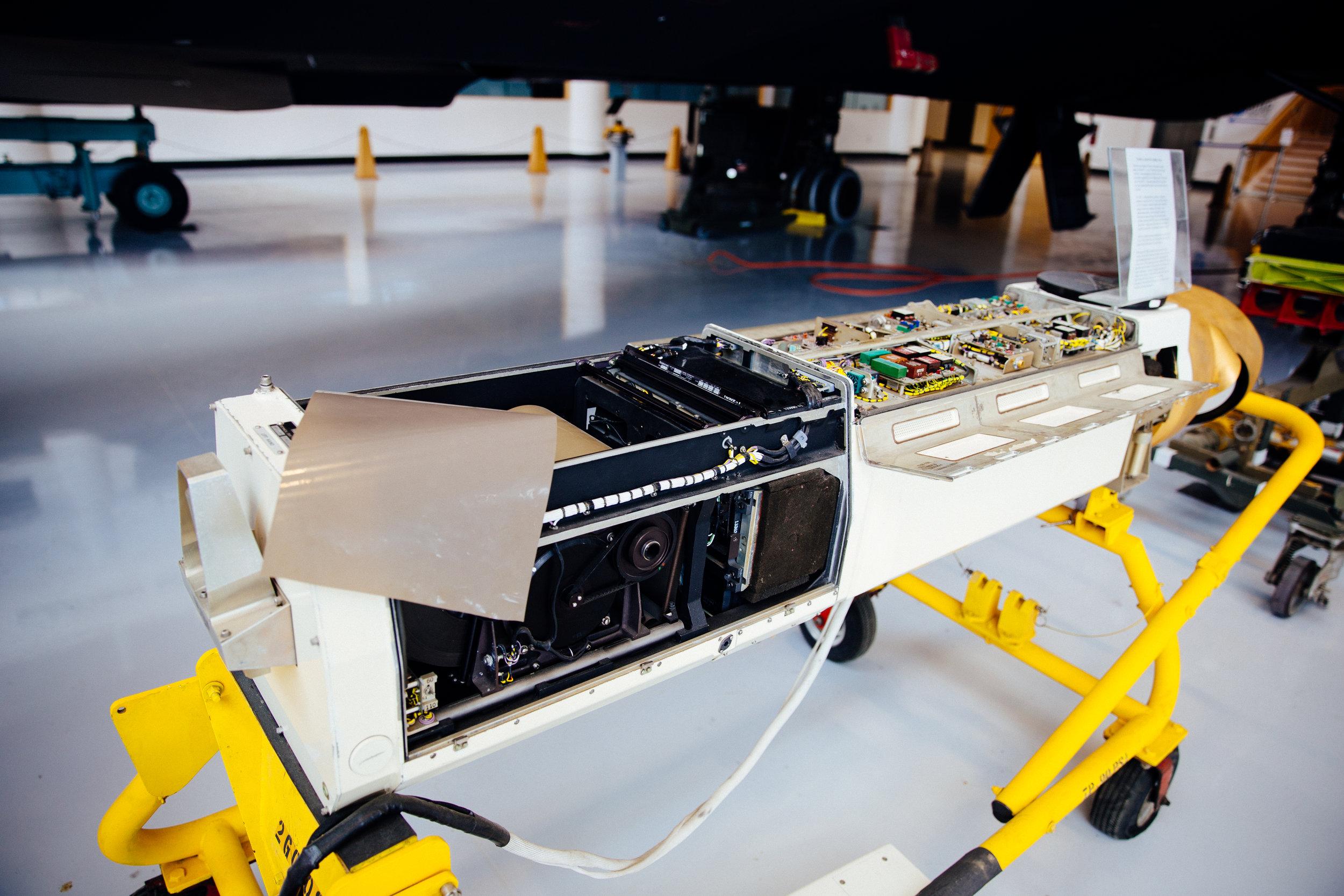 Camera for the SR-71 Blackbird