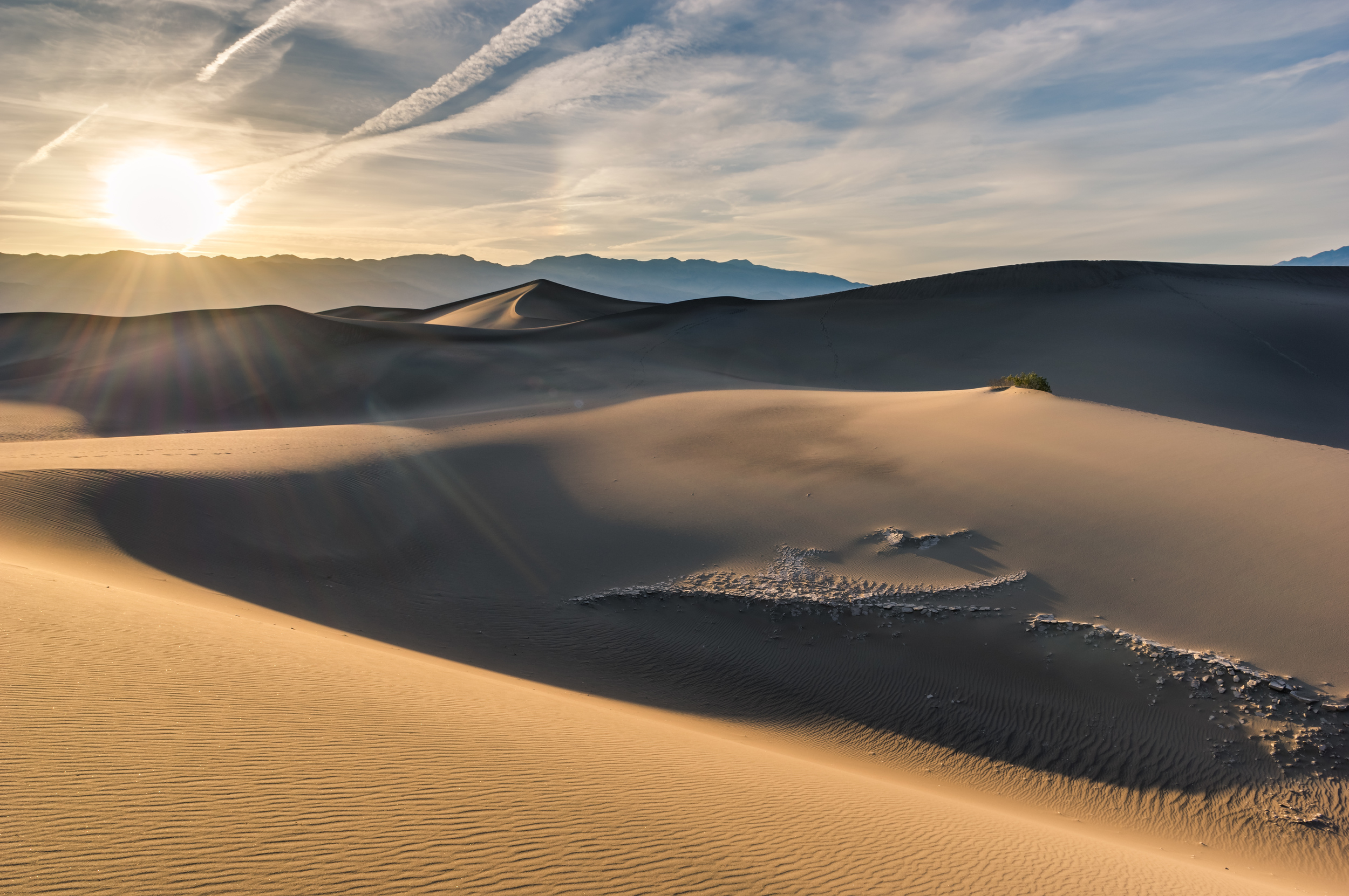 Mesquite Flat Sand Dunes im Death Valley