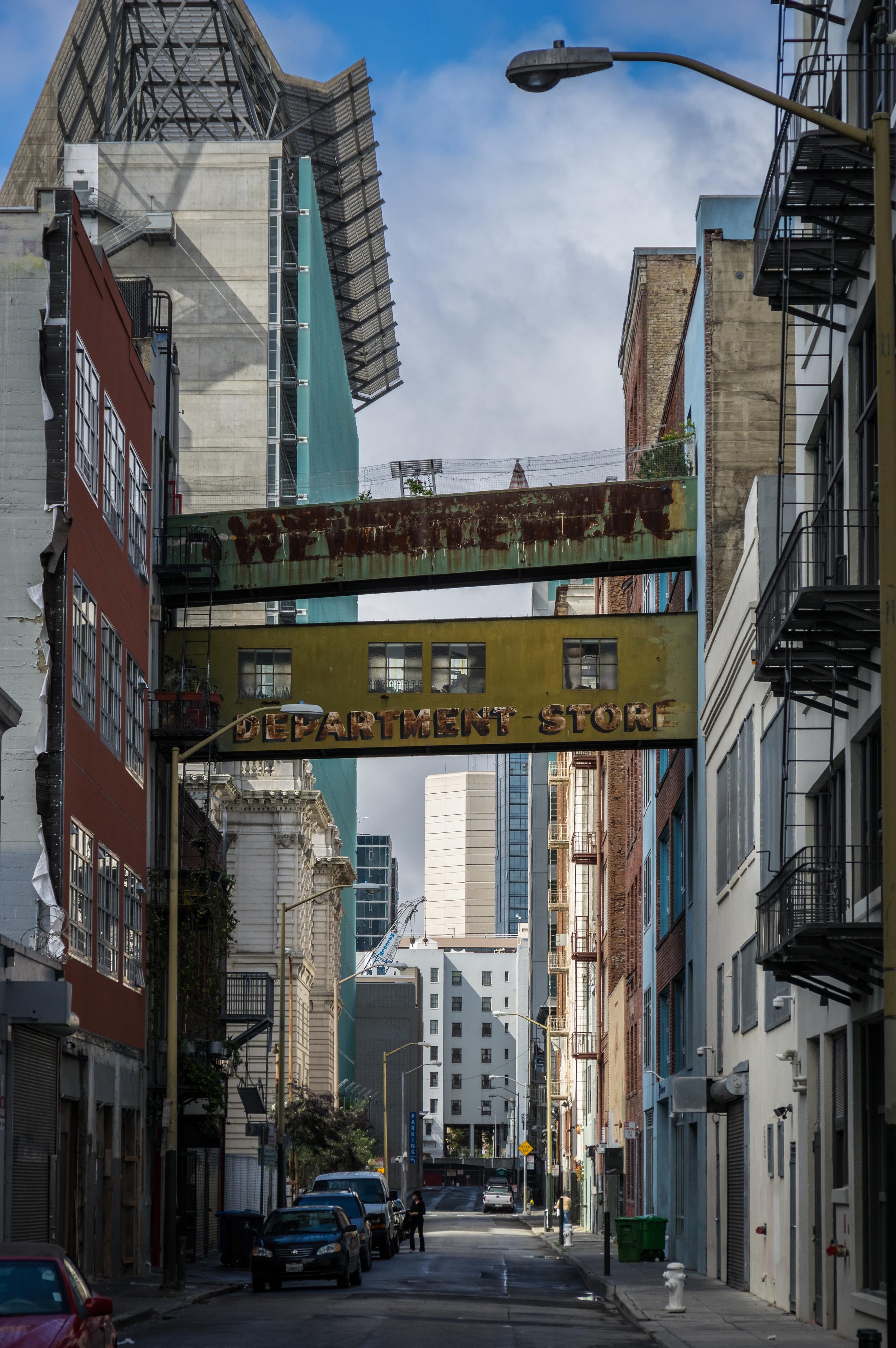 Seitenstraße in San Francisco