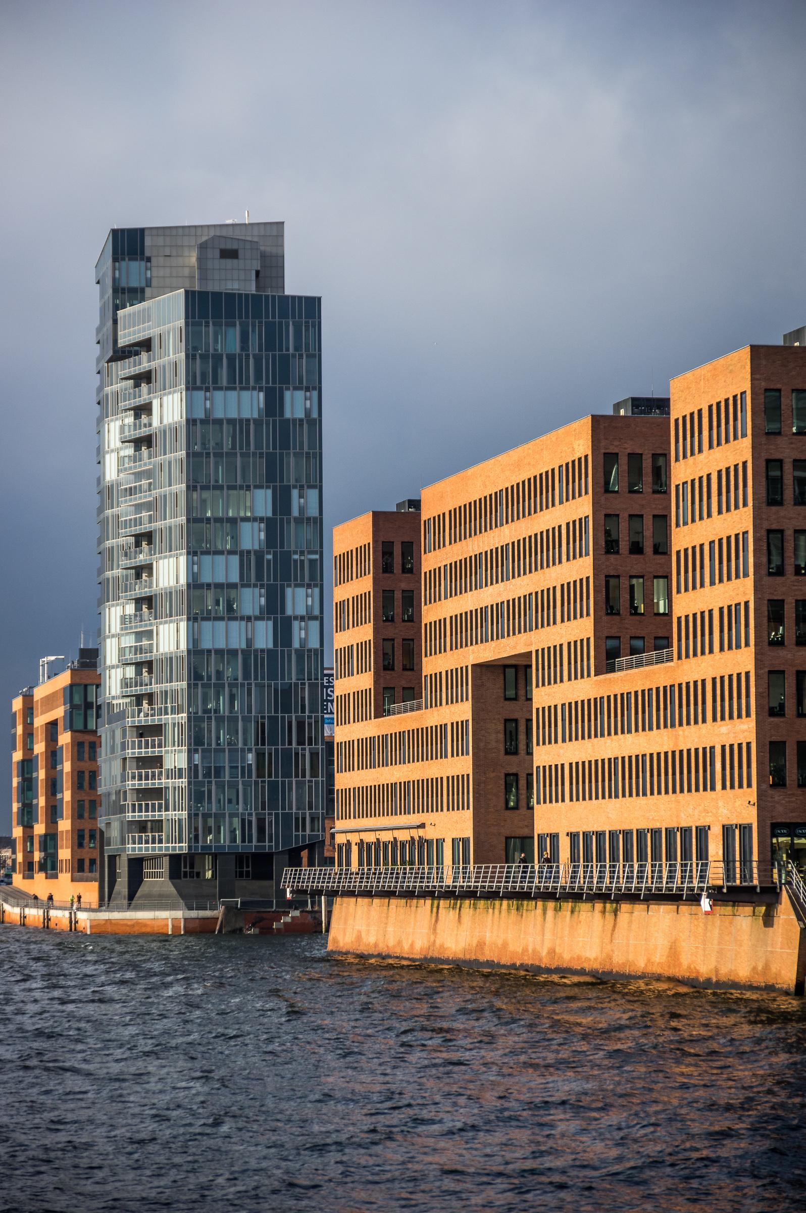 Moderne Architektur im Hafen