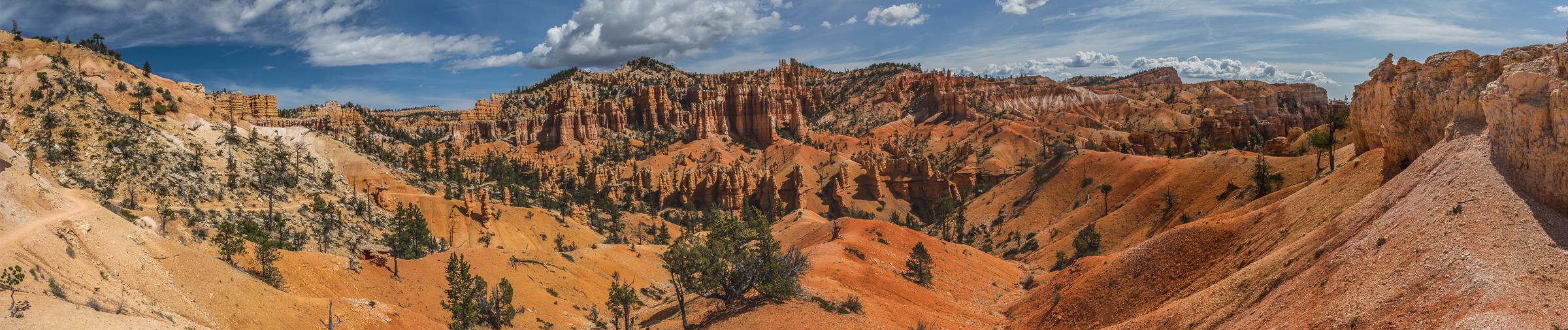 Panorama im Bryce Canyon.