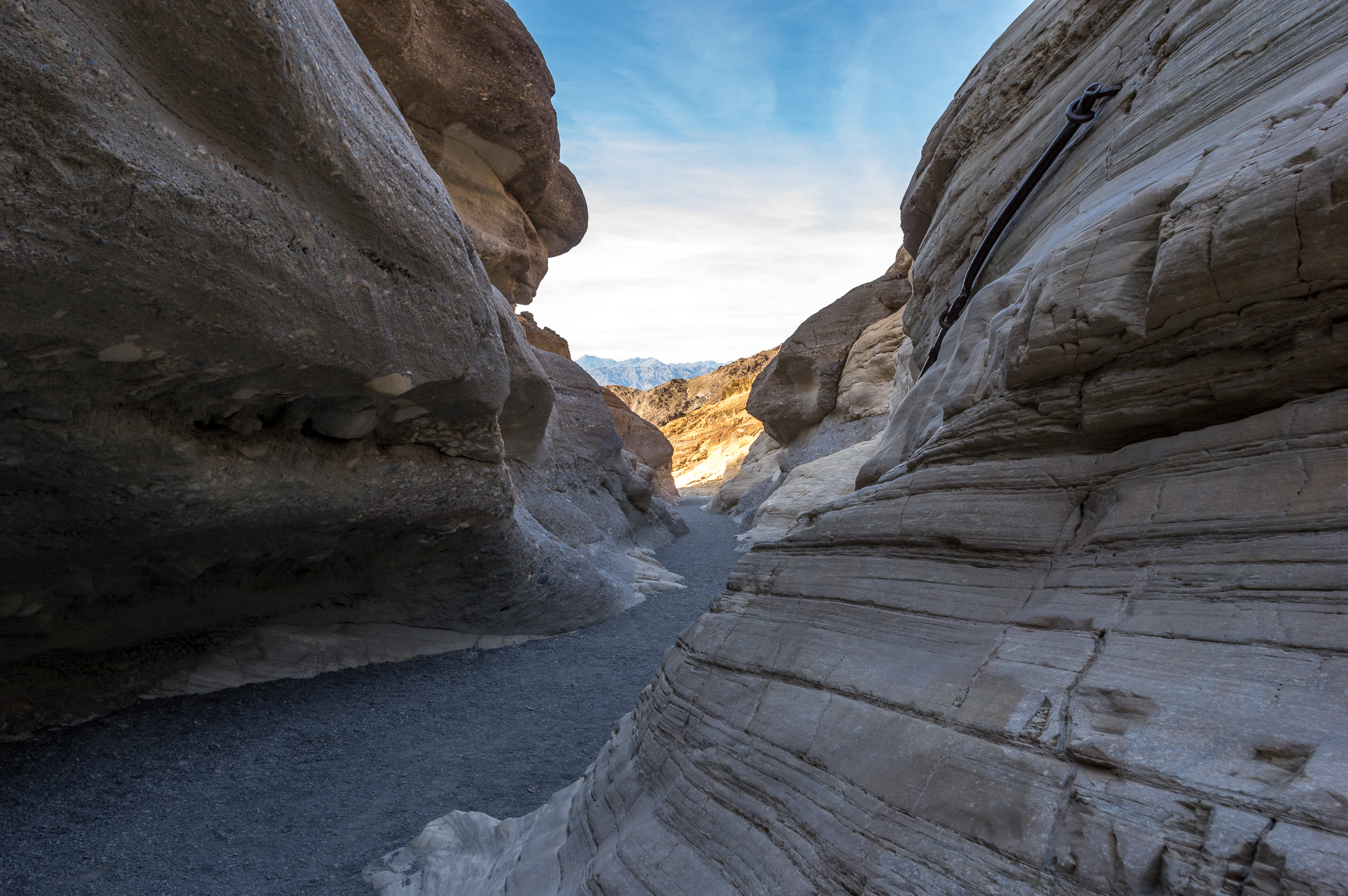 Der Mosaic Canyon im Death Valley.