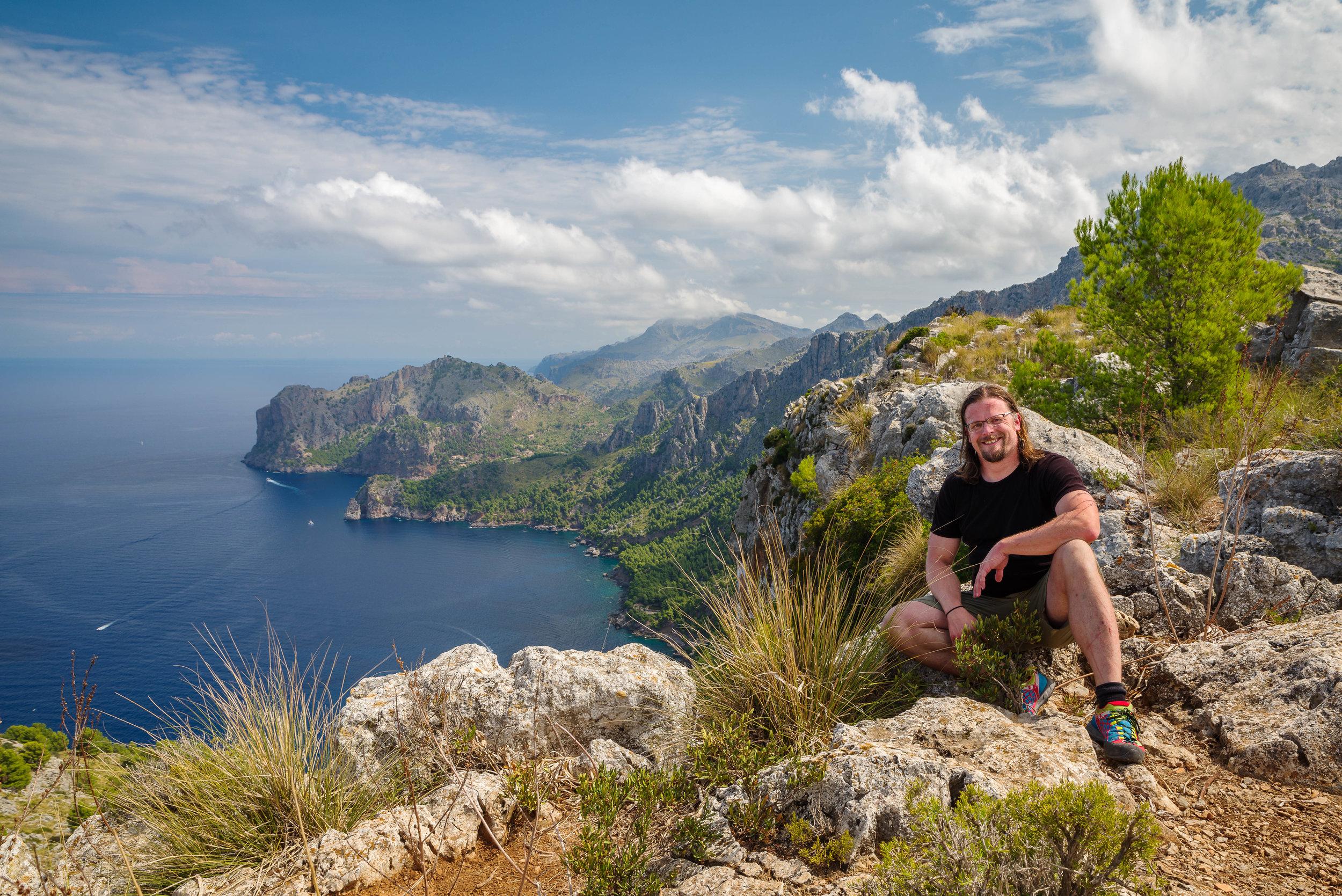 Blick Richtung Tuent auf Mallorca