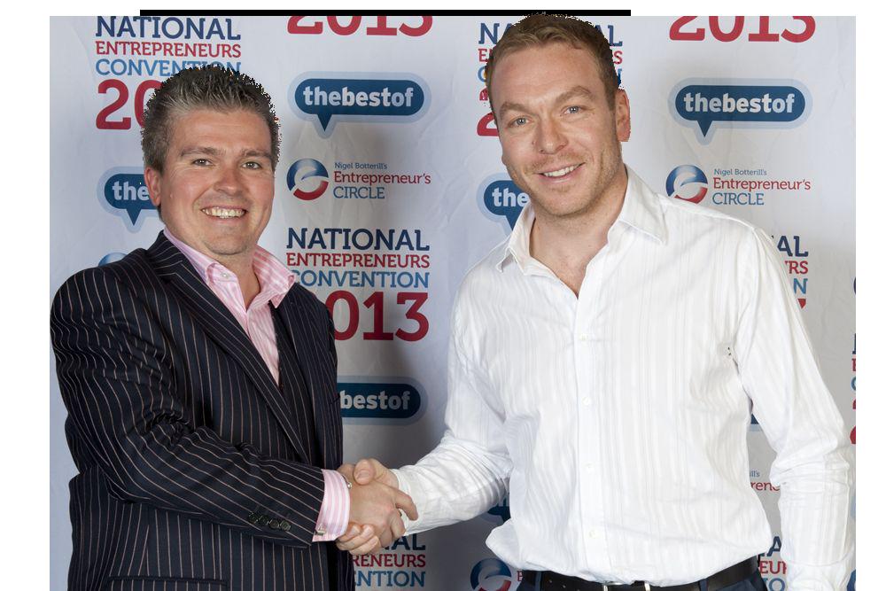 David Bell and Sir Chris Hoy
