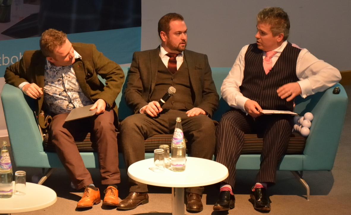 David Bell, Richard Pond & Alistair Gillan at WTBOB