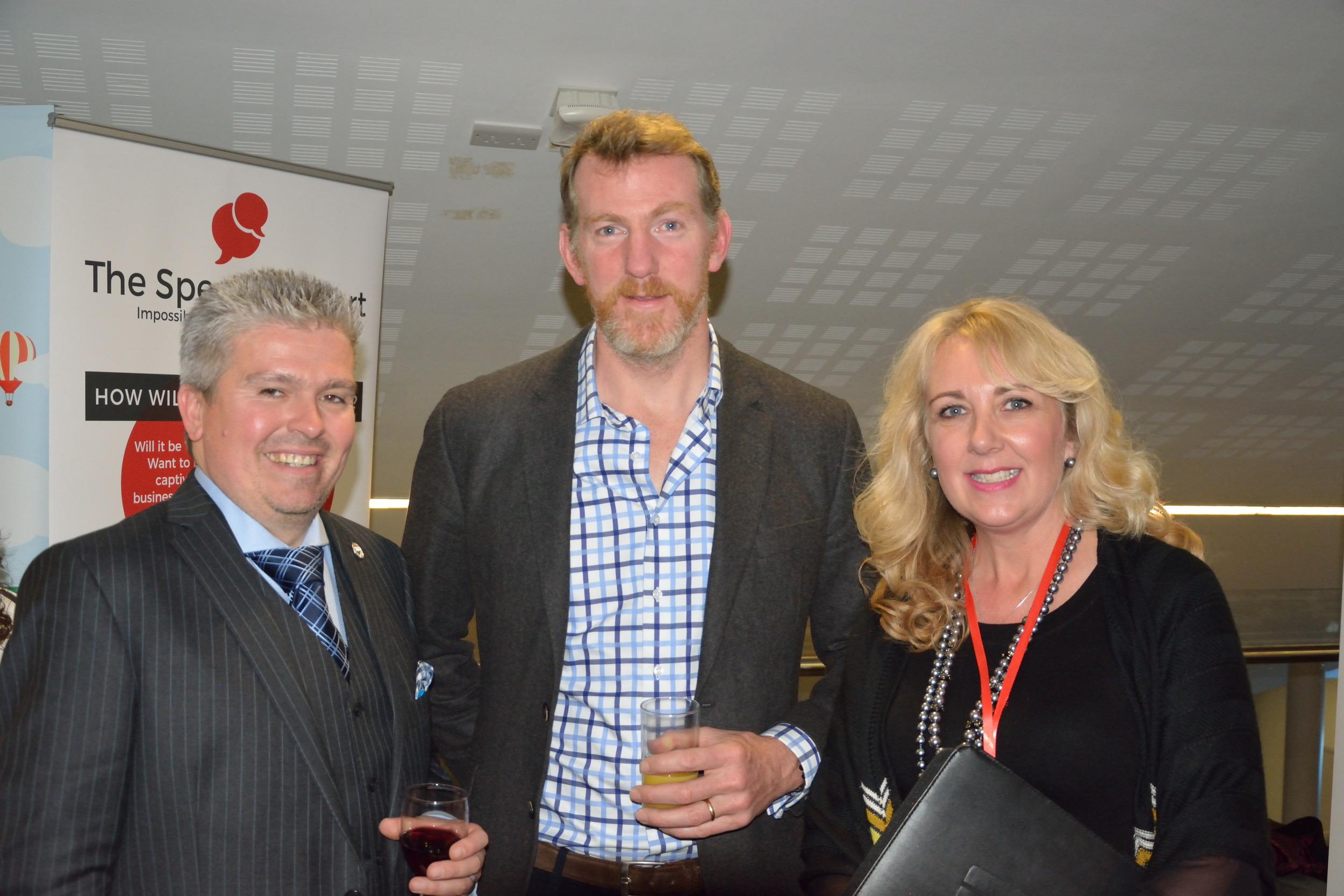 David Bell, Ben Hunt-Davis & Sarah Brockwell