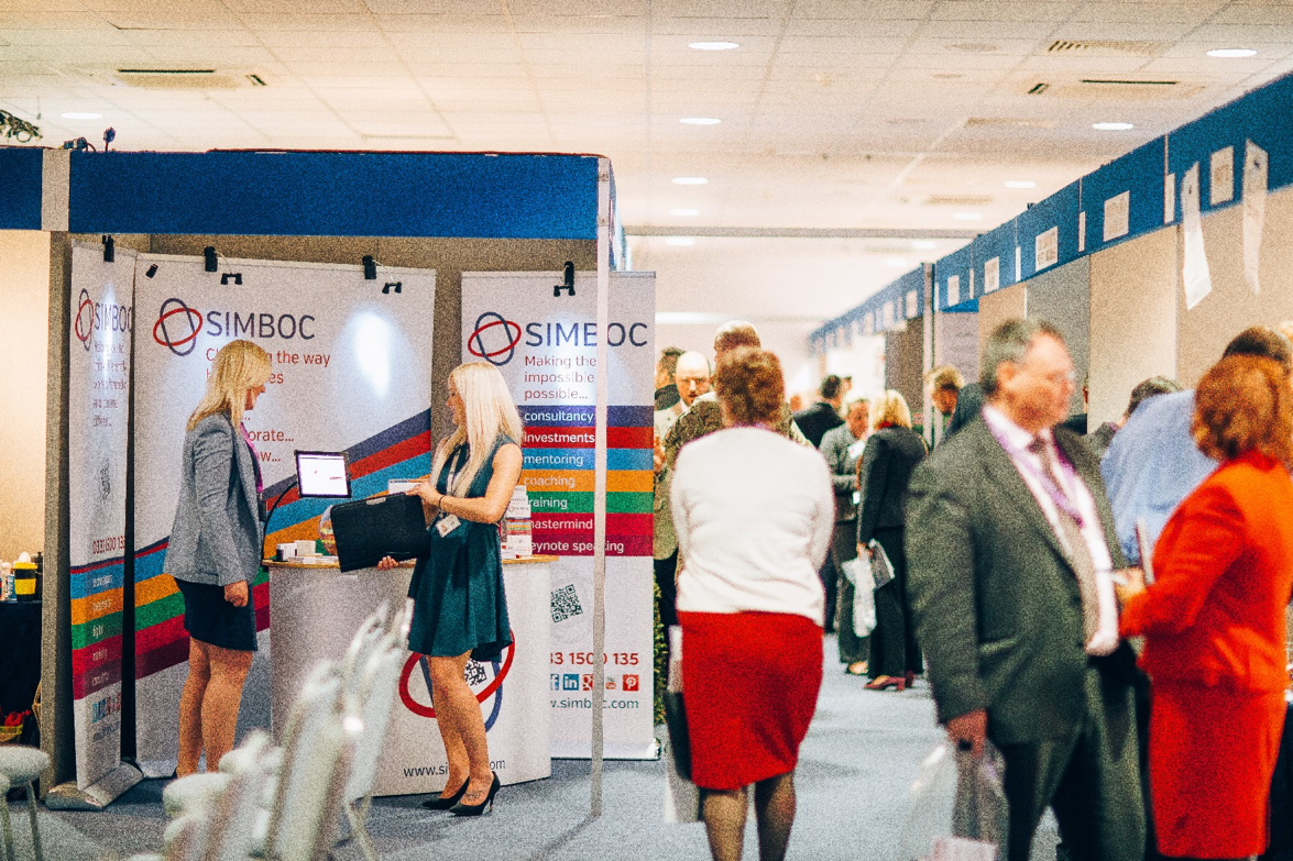 Simboc stand at Business East Expo 2015