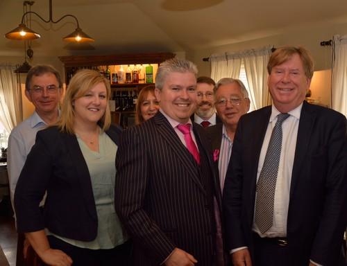 David Bell with Simon Burns MP