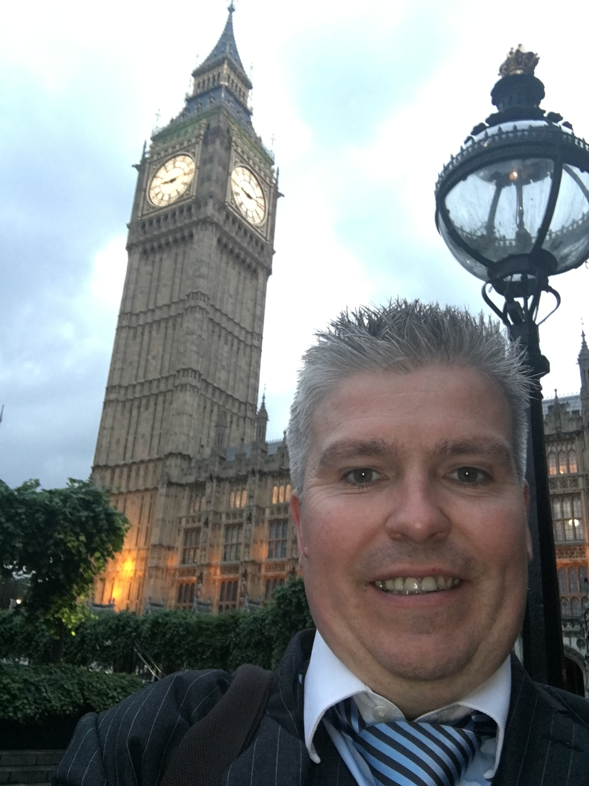 David Bell - Trip to the Houses of Parliament for Chairmans Reception