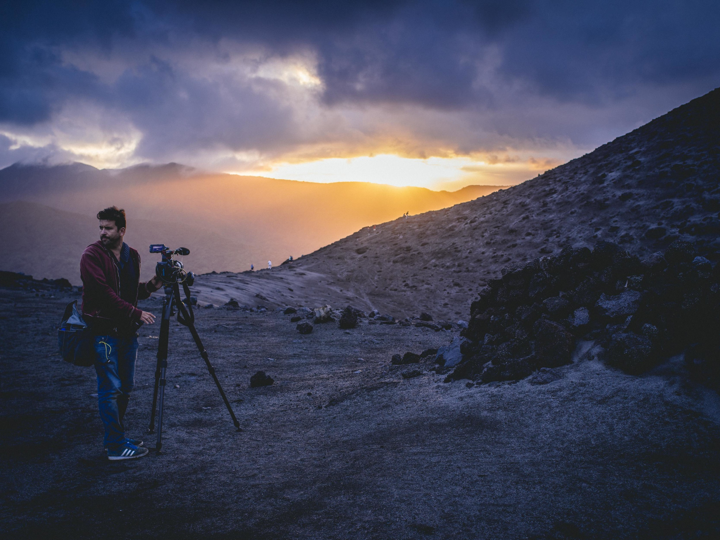 "FILMING CNN'S ""THE WONDER LIST"" ON MOUNT YASUR VOLCANO IN VANUATU"