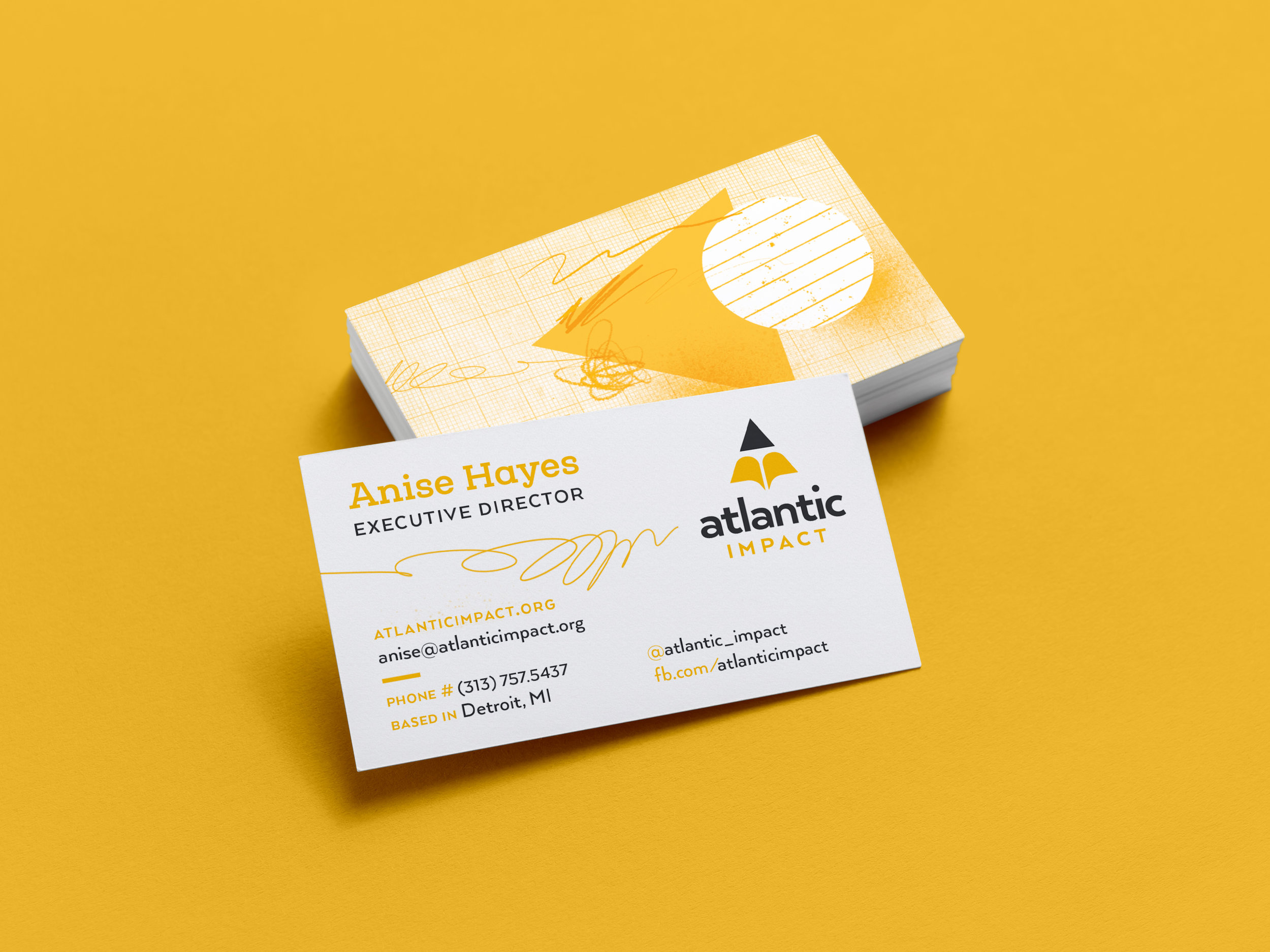 Business cards (backs)