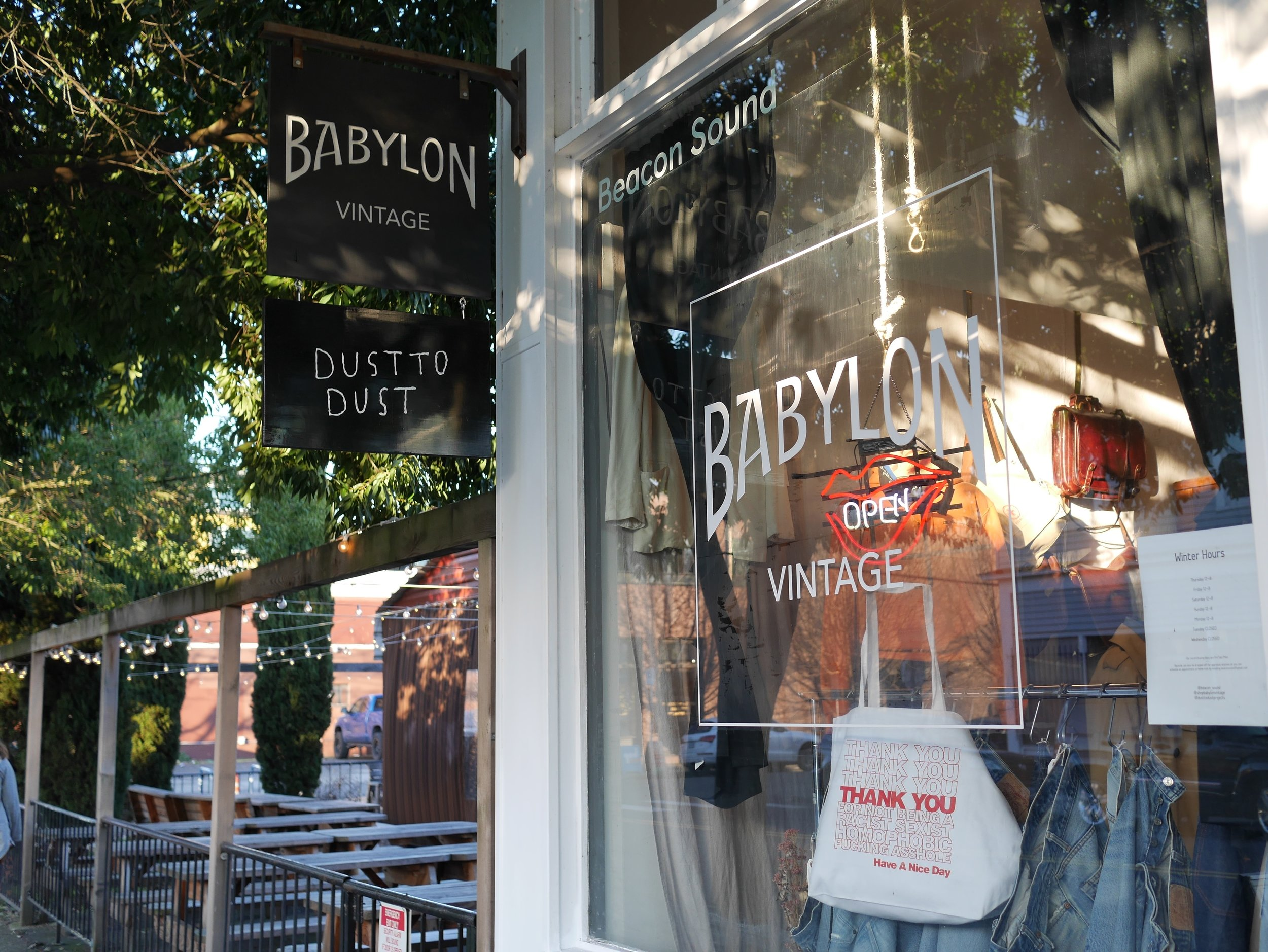 3636 N Mississippi Ave, Portland, Oregon  (The home of Dust to Dust, Babylon Vintage, Beacon Sound, and Indent Magazine)