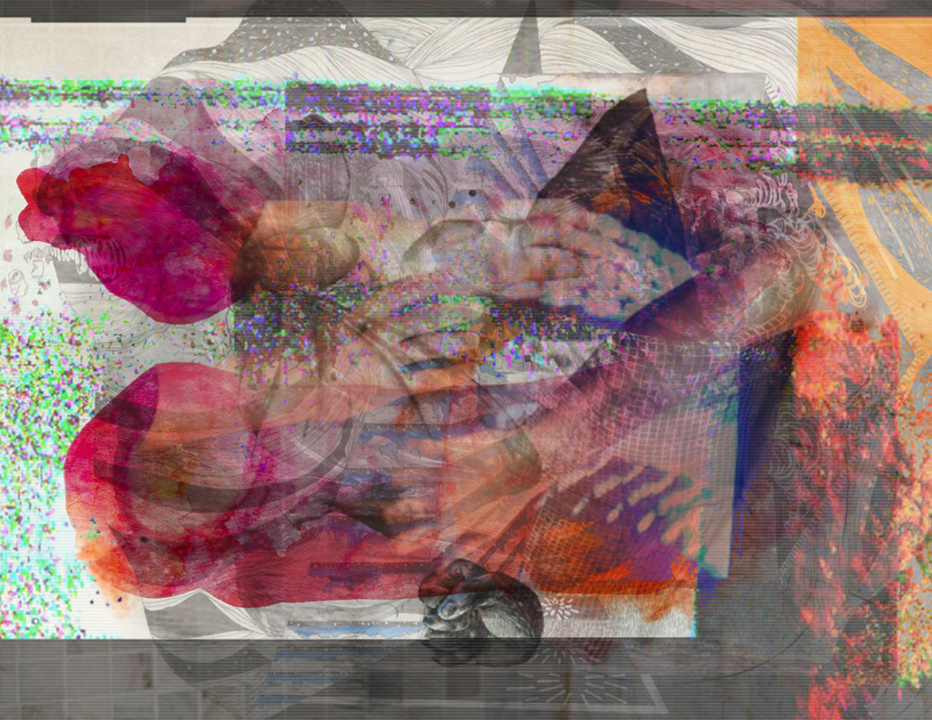 View From HerePresented by Prequel at c3:initiative - Image composite of eight artist's work courtesy of Marcelo Fontana