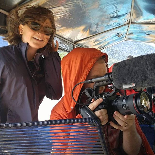 #tbt to last summer in the Amazon with Director Tim Shephard and Producer Amy Burns