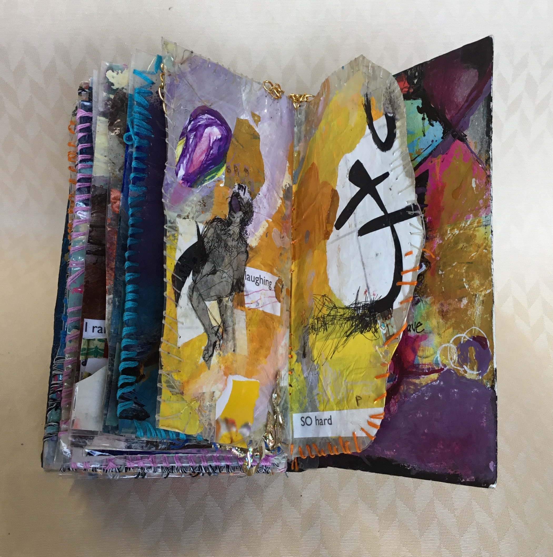 Artist Books - The mark of a true artist shines when they cannot hold themselves back to keep creating new and experimental pieces. Each book is filled with hundreds of individual works of art stretching across a variety of themes, styles, and color palettes.