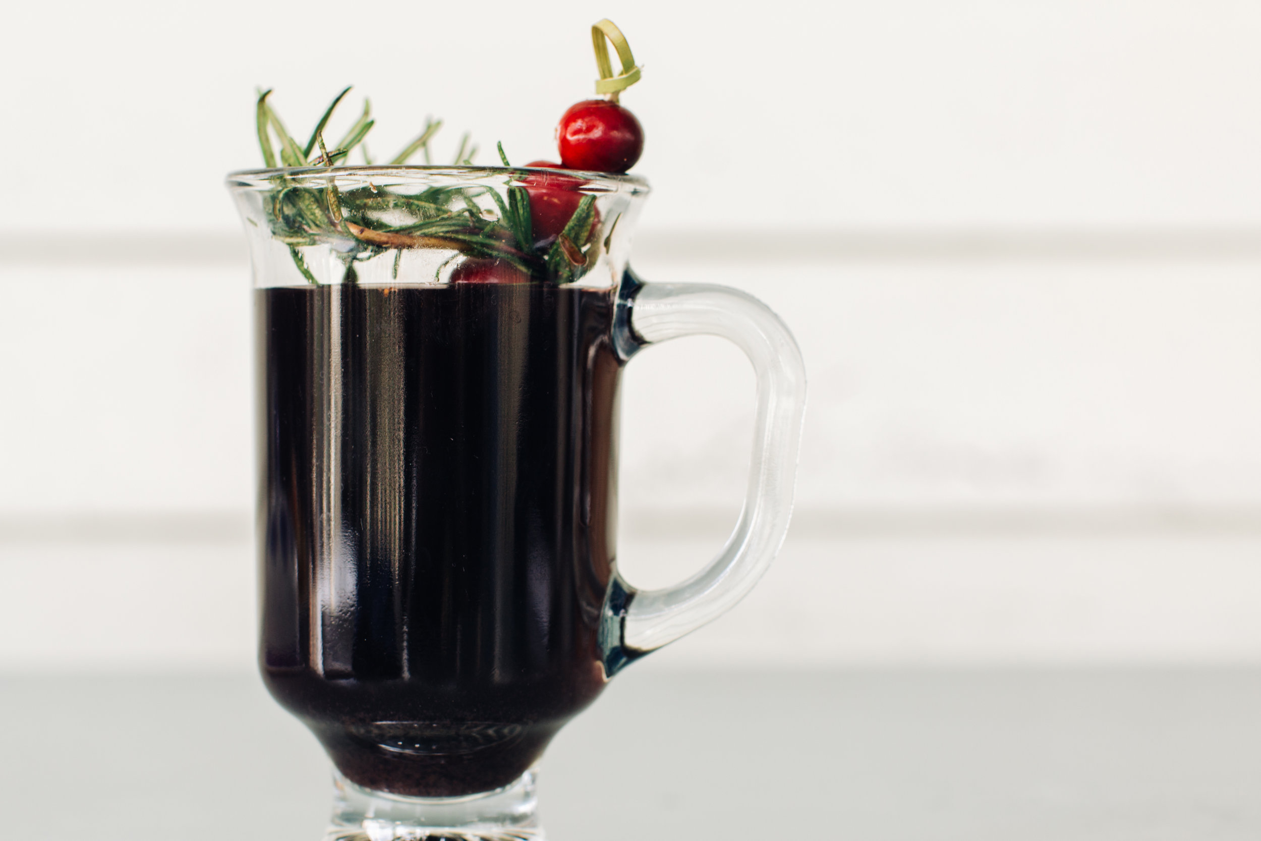 Mulled Wine - Red Wine, Brandy, Winter Spices, Fresh Cranberry, Rosemary 2.JPG