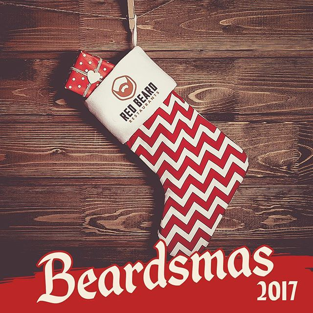 It's the most wonderful time of the year – Beardsmas is finally here! Our third annual holiday extravaganza is chock-full of brand-new gift items and experiences. All you food-lovers can thank us later. Check out the goods on redbeardmerch.com! Link in bio.