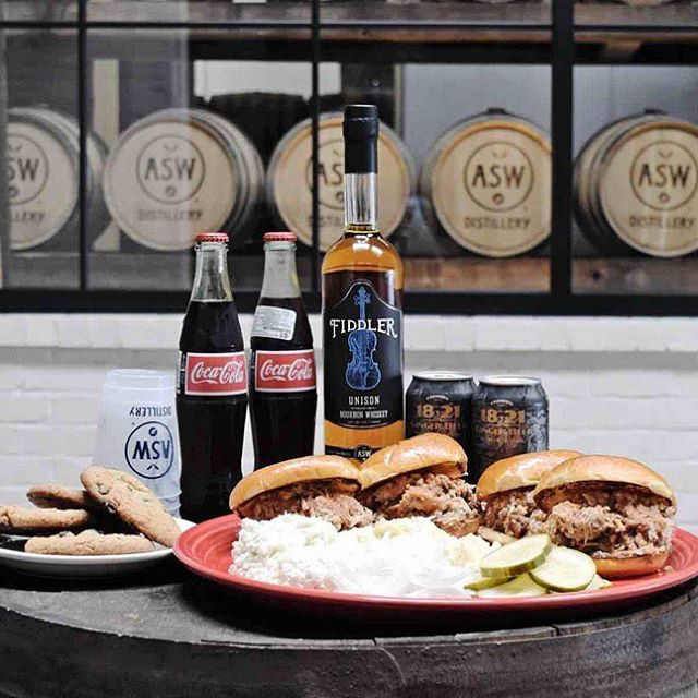 Gearing up for the SEC Championship this weekend? Mark booze and BBQ off your list thanks to the Ultimate Tailgate Experience from ASW Distillery and Terminus City BBQ. Get your orders in now before the big game on Saturday. Go Dawgs! @aswdistillery @terminuscitybbq