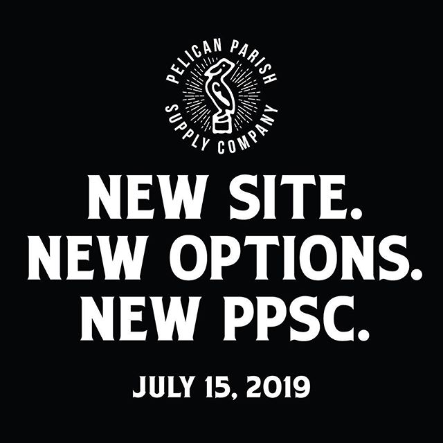 It's been a bit slow around these parts lately, but Pelican Parish will be back in action soon with a ton of new color options and apparel variety like never before - we're excited! See y'all on the 15th. . . #pelicanparish #louisiana #shoplocal #pelican #shreveport #bossiercity #monroe #minden #ruston #natchitoches #alexandria #lafayette #lakecharles #batonrouge #nola #neworleans #comingsoon
